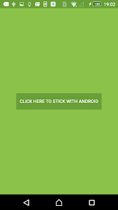 Stick with Android v1.3.3.7