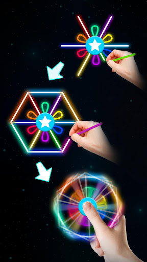 Draw Finger Spinner screenshots apkspray 2