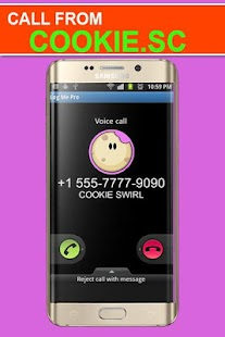 Call from Cookie Swirll - náhled