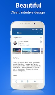Blue Mail - Email Mailbox- screenshot thumbnail