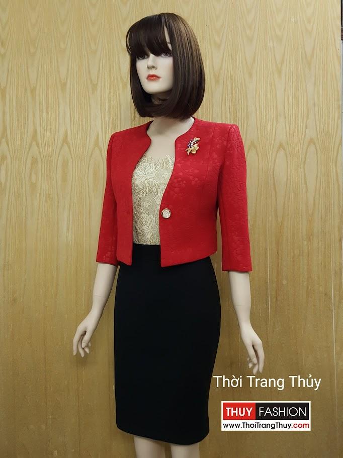 Áo vest nữ dáng lửng ngang eo cổ tròn tay lỡ V499 Thời Trang Thủy