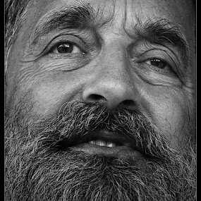 Wanna be out of dark! by Jasminka Nadaskic Djordjevic - People Portraits of Men ( face, photography, closeup, close, up,  )
