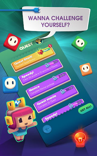 Connect Puzzle: Color Lights - screenshot