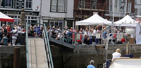 Photo: ON WEYMOUTH HARBOUR QUAY
