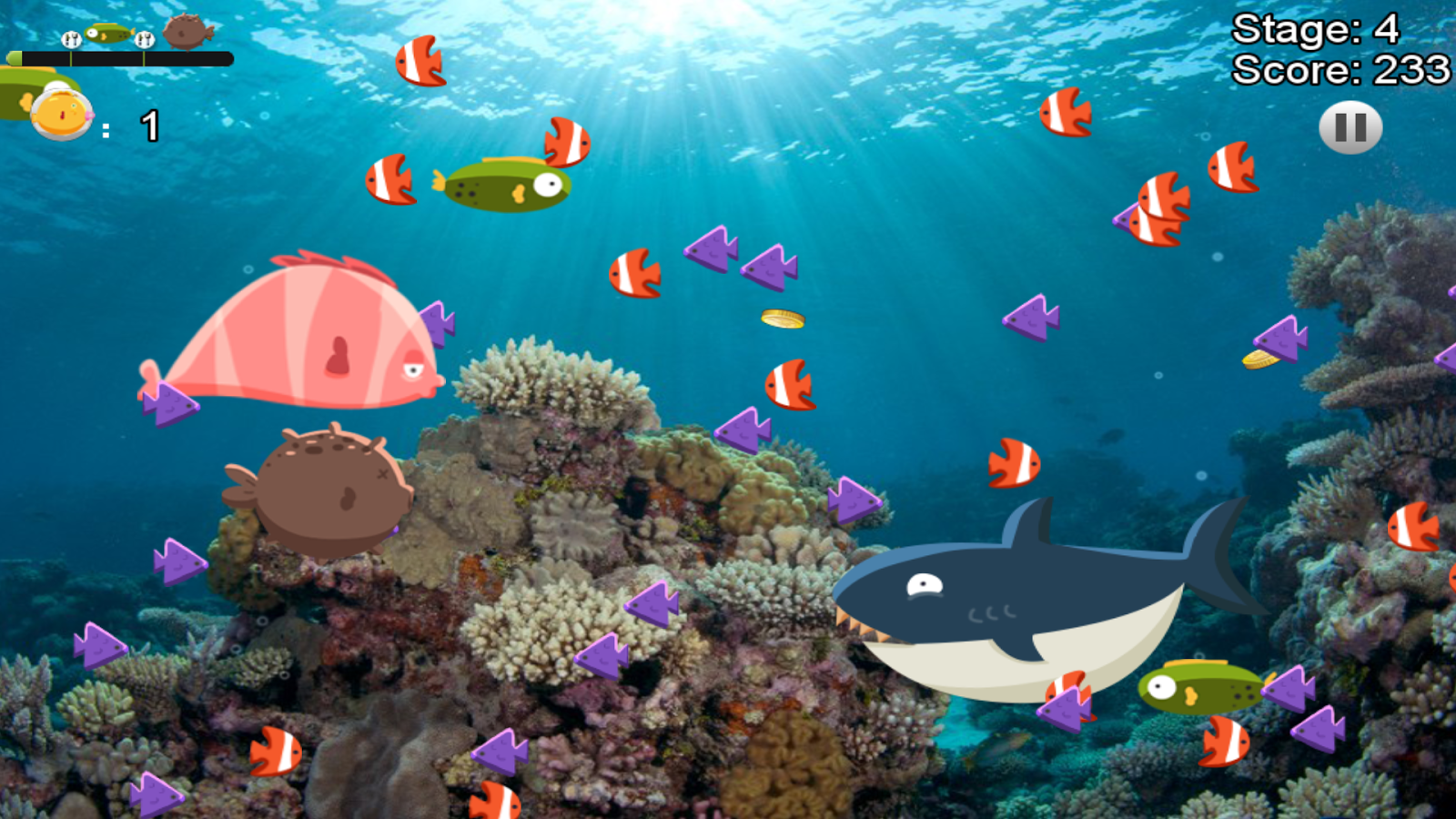Big fish eat the small hako android apps on google play for Big fish musical script