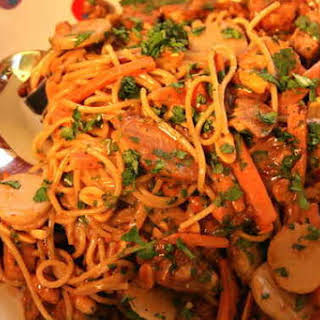 Thai Chicken Pasta.