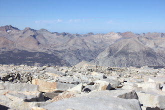Photo: Great Western Divide from Mount Whitney
