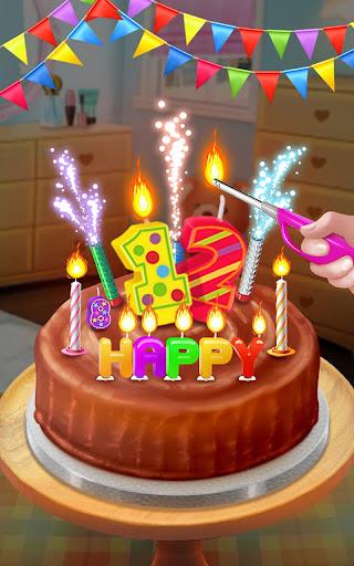 Birthday Cake - Sweet Dessert
