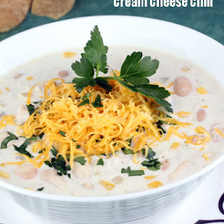 Cream Cheese Chicken Chili.