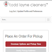Todd Layne Cleaners - Schedule Pickups/Deliveries