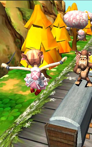 Télécharger Gratuit Teen Princess Dash - Subway Jungle Escape  APK MOD (Astuce) screenshots 6