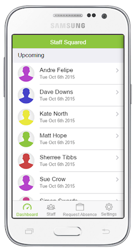 Staff Squared HR Software App