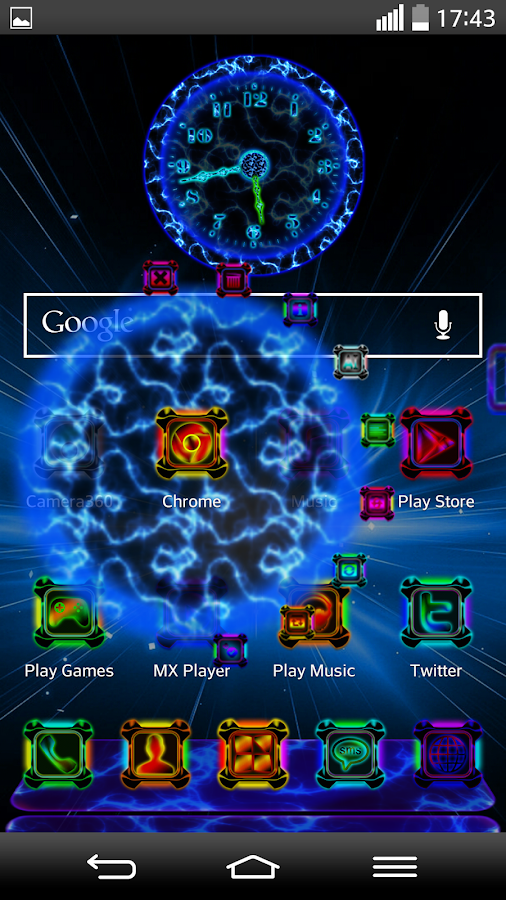 Next Launcher Theme ENERGYSHOW- screenshot