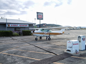 Photo: Our Cessna for the day