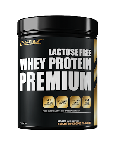 SELF Micro Whey Active Lactose Free 1kg - Biscotto Cookie