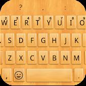 Emoji Keyboard - Wood Yellow