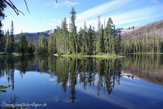 Photo: Klarer Bergsee Yellowstone NP