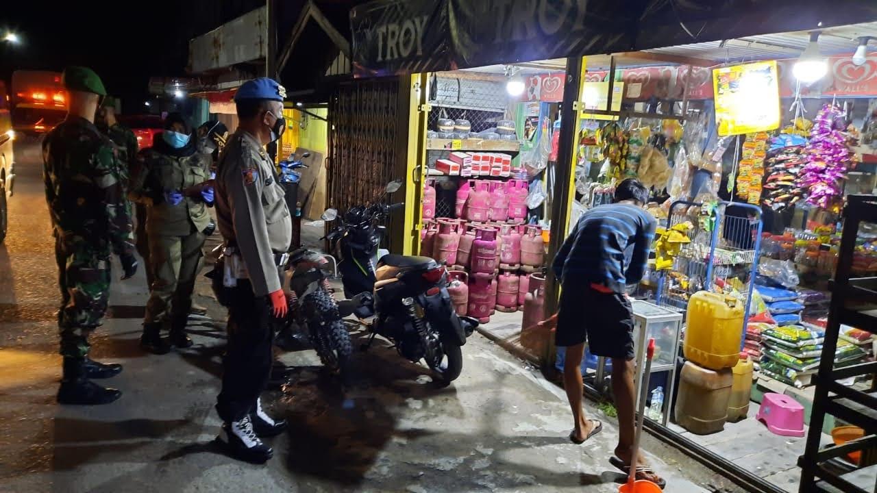 Kasipropam Polres Kobar Pimpin Satgas Gabungan Operasi Yustisi Malam