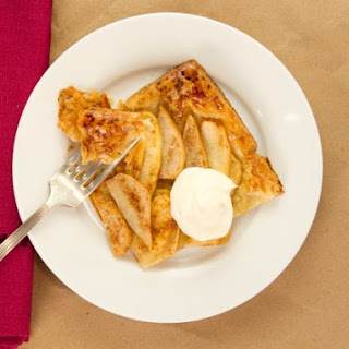 Honey-Glazed Apple Pear Tart