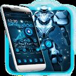 Robot Technology Theme Transformer Icon