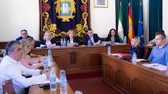Imagen del Pleno celebrado este pasado viernes en Níjar.