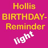 Geburtstagskalender light