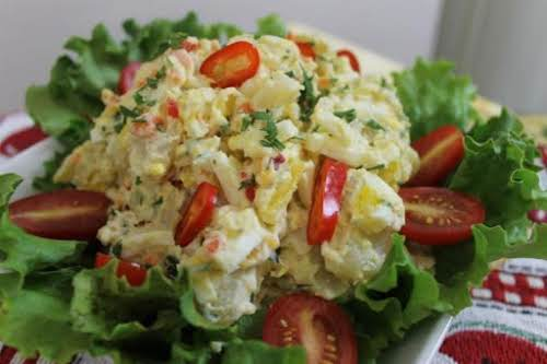 "Not My Momma's Potato Salad ""Coming up in a large family, I..."