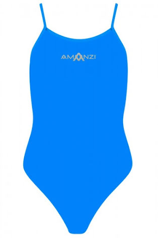 Azure Tie Back One Piece