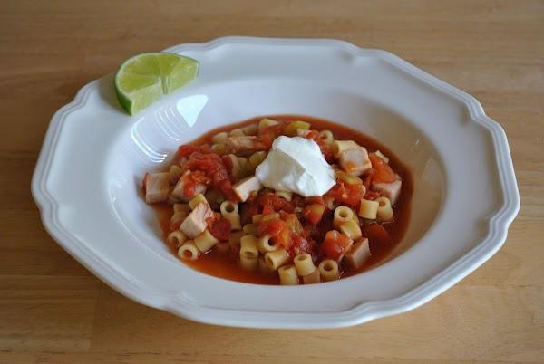 Salsalito Turkey Soup Recipe
