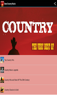 Best Country Music- screenshot thumbnail