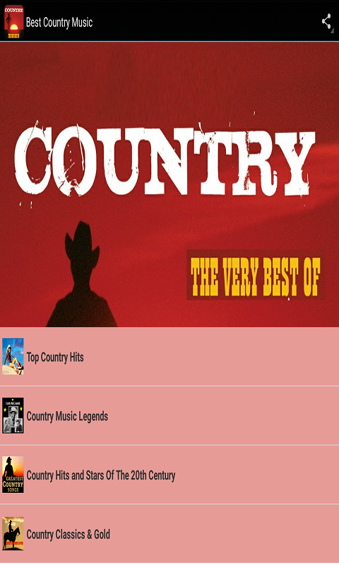 Best Country Music- screenshot