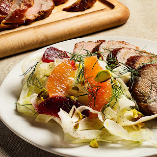 Roast Pork Tenderloin with Fennel-Citrus Salad