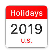 United States Federal and State Holidays 2019