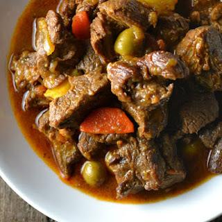 Carne Guisada (Puerto Rican Beef Stew).