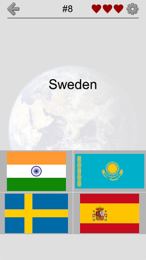 Flags of All Countries of the World: Guess-Quiz 2.2 screenshots 1