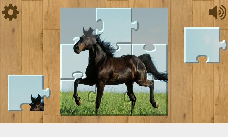 Скриншот Лошади Пазлы