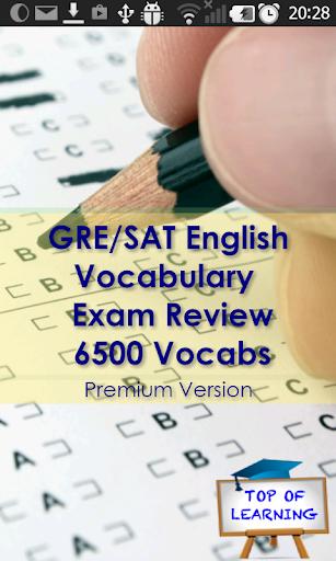 GRE English Vocabulary 6500 Ws
