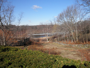 Photo: Quincy Reservoir viewed from Packards Lane in Braintree