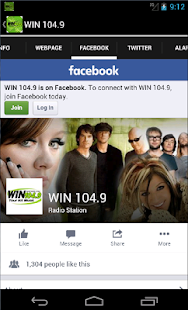 WIN 104.9- screenshot thumbnail