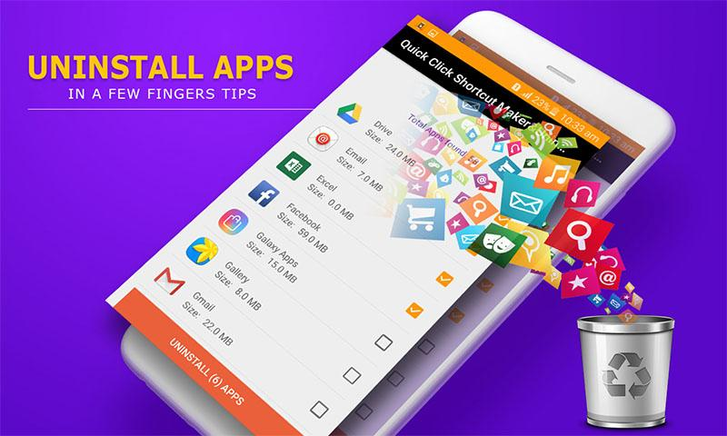 Download Quick Click Shortcut Maker & Uninstaller App APK