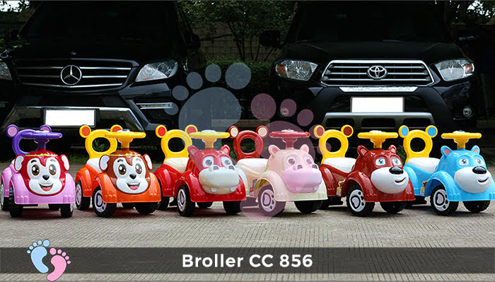 Xe chòi chân cho bé Broller CC-856 1