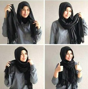 Abaya Hijab Tutorial - náhled