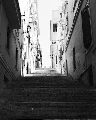 Una scala a Frascati  di foto