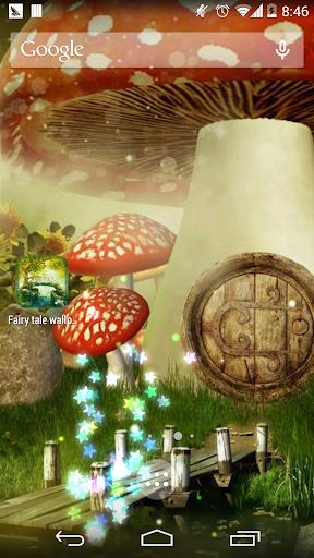 Door God fairy wallpaper