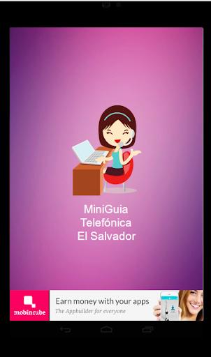 MiniGuia Telefónica SV