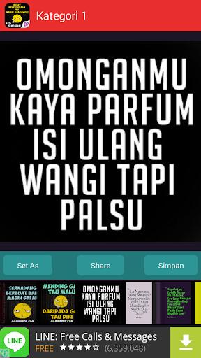 Gambar DP Kata Sindiran