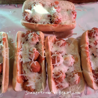 Easy Meatball Sub Sandwiches