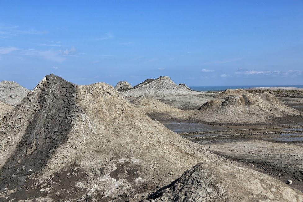 Qobustan, wulkany błotne