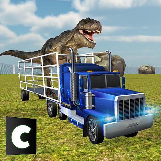Dinosaur Zoo Transport Truck Simulator