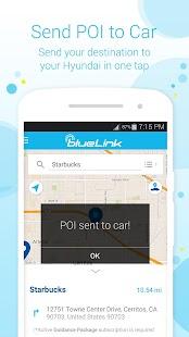 Hyundai Blue Link Screenshot 3